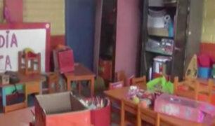 San Juan de Lurigancho: asaltan por séptima vez un colegio en Jicamarca