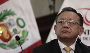 Edgar Alarcón: Comisión Permanente recomendó remover a contralor