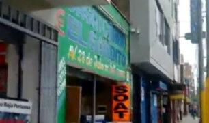 Huacho: limpiador de carros sería autor de robo a casa de cambio