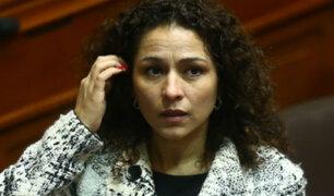 Reacciones tras declaraciones de Cecilia Chacón sobre dirigentes de Fuerza Popular