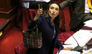 Patricia Donayre se enfrentó a su compañero de bancada Miguel Torres
