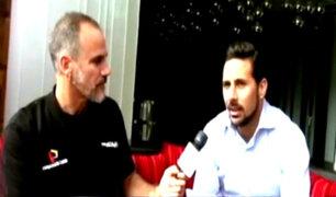 Claudio Pizarro ofrece entrevista exclusiva desde Londres