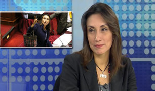 """Congresista Patricia Donayre: """"No voy a renunciar a Fuerza Popular"""""""