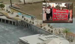 Continúan protestas por proyecto en playa 'Los Yuyos' en Barranco