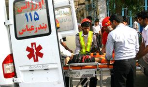 Irán: motociclista ataca con ácido a 16 personas en Teherán