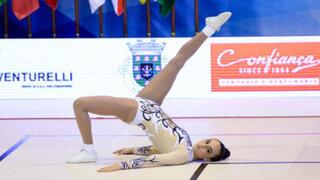 Peruana Thais Fernández ganó una medalla de oro de gimnasia en Londres