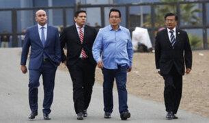 Félix Moreno abandonó esta tarde el penal Piedras Gordas