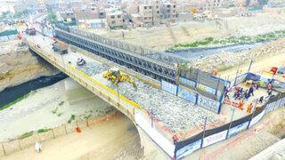 Construcción del Puente Bella Unión está a un 80% y estará listo en julio