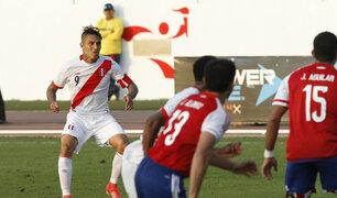 Perú ganó 1-0 a Paraguay con golazo de Paolo Guerrero