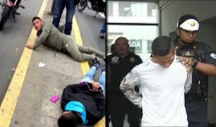 San Martín de Porres: PNP realiza captura de banda que asaltó a repartidor de celulares