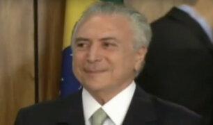Brasil: Tribunal Supremo Electoral resolvió no destituir al presidente Michel Temer