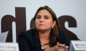 Marisol Pérez Tello supervisó funcionamiento de bloqueadores de celulares en penal Ancón I