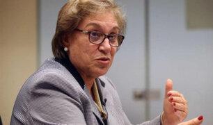 """""""La violencia sexual aún goza de cierta impunidad"""", dice ministra de la Mujer"""