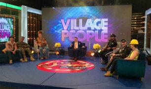 Village People hizo vibrar el estudio de Porque Hoy es Sábado con Andrés