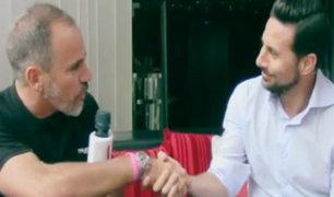 """Claudio Pizarro: """"Yo tengo la ambición de volver a la Selección e ir a un Mundial"""""""