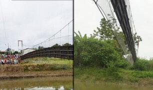 Ecuador: desplome de un puente peatonal en Manabí deja 32 heridos