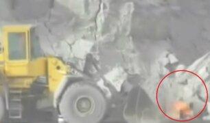 Puno: hombre que se prendió fuego durante operativo a minera será denunciado