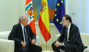 Pedro Pablo Kuczynski se reunió con Mariano Rajoy