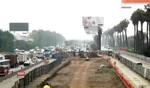 """Surco: hace un año está paralizada obra del intercambio vial a desnivel """"El Derby"""""""