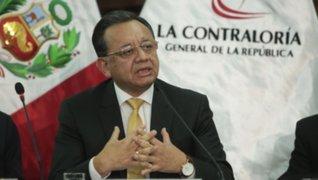 Congreso: grupo de trabajo evaluará caso de contralor Edgar Alarcón