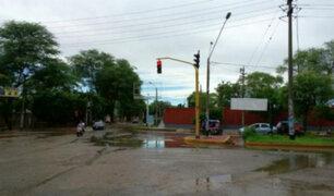 Lluvias intensas se registran en localidades de Cusco y Cajamarca