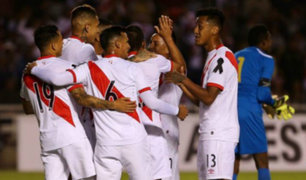 Perú venció 3-1 a Jamaica en un amistoso jugado en Arequipa
