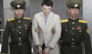 Corea del Norte: liberan a estudiante estadounidense en estado de coma
