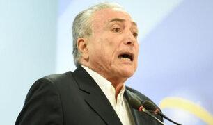 Brasil: Michel Temer defendió la independencia de poderes y volvió a declararse inocente