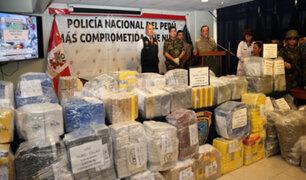 Golpe al narcotráfico: Dirandro decomisa más de 2,500 kilos de droga