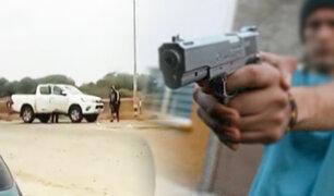 Piura: asaltan a pareja en carretera y les arrebatan 12 mil dólares