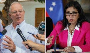 Reacciones ante los agravios contra PPK por parte de  canciller venezolana