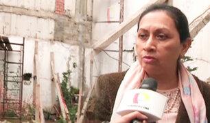 Miraflores: dueña de casa afectada solicita demolición de su inmueble