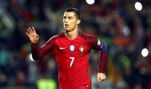 Cristiano Ronaldo alborota calles de Rusia