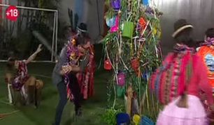 Carlos Galdós enloqueció mientras bailaba en una yunza