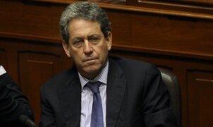 Ministro de Economía se presenta ante el Pleno del Congreso para explicar audio con el contralor