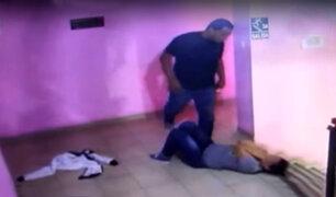 Callao: expolicía agrede brutamente a su pareja en hotel