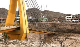 Puente Solidaridad: estructura colapsada será habilitada en 2018