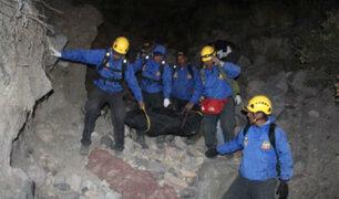 Arequipa: hallan los restos del joven desaparecido en el volcán Misti