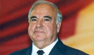 Falleció el excanciller alemán Helmut Kohl a los 87 años