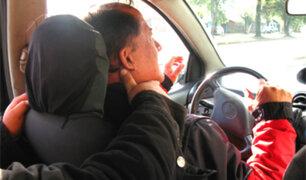 Se incrementa robo a taxistas en diferentes distritos de Lima y Callao