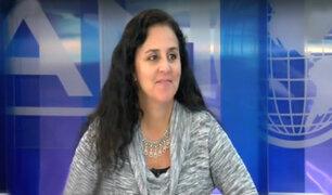 Ministra Patricia García responde tras la polémica por reglamento de Ley de Alimentación Saludable