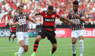 Flamengo iguala 2-2 ante Fluminense por octava fecha del Brasileirao