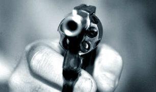 Callao: hijos celosos intentan asesinar a balazos a la nueva pareja de su madre