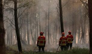 Incendio forestal en Portugal continúa fuera de control
