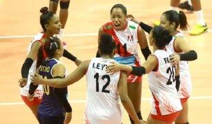 Perú venció 3-1 a Trinidad y Tobago por la Copa Panamericana de vóley