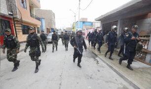 """Callao: Megaoperativo policial desbarató banda rival de """"Barrio King"""""""