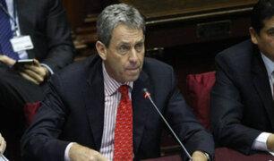 Congreso debatirá mañana cuestión de confianza de ministro  Thorne