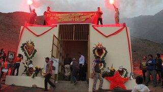 Municipio de Comas demolerá mausoleo senderista antes de Fiestas Patrias