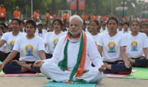 Hoy se celebra el primer Día Internacional del Yoga