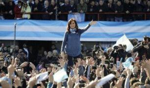 Cristina Fernández lanza partido opositor previo a comicios argentinos